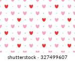 seamless lovely pattern of... | Shutterstock .eps vector #327499607