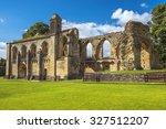 Ruins Of Glastonbury Abbey  Wa...