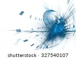 abstract futuristic background | Shutterstock . vector #327540107