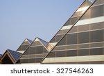 a series of modern glass and... | Shutterstock . vector #327546263