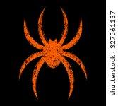 spider | Shutterstock .eps vector #327561137