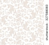 floral pattern. wallpaper... | Shutterstock . vector #327588083