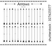 big set of different vector... | Shutterstock .eps vector #327625577