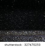 glitter vintage lights...   Shutterstock . vector #327670253