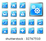 website and internet icons ... | Shutterstock .eps vector #32767510