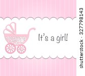 "paper baby pram with text ""it's ... 