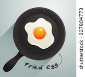 vector of fried eggs