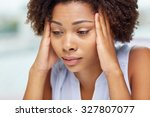 people  emotions  stress and... | Shutterstock . vector #327807077