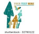 the vector retro grunge...   Shutterstock .eps vector #32783122
