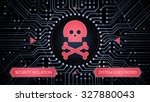 security violation  ... | Shutterstock .eps vector #327880043