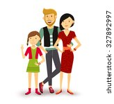 people collection  one child... | Shutterstock . vector #327892997