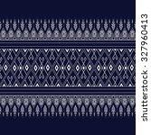 geometric ethnic pattern design ... | Shutterstock .eps vector #327960413