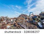 scrap metals | Shutterstock . vector #328038257