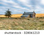 An Old Abandoned Cottage On...