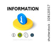 information icon  vector symbol ...