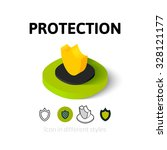 protection icon  vector symbol...