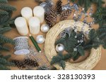 Decoration  Advent Wreath And...
