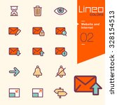 lineo colors   website and... | Shutterstock .eps vector #328154513