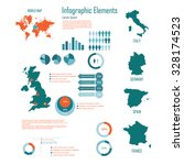 infographic elements with uk... | Shutterstock .eps vector #328174523