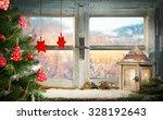 Atmospheric Christmas Window...