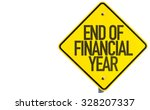 end of financial year sign... | Shutterstock . vector #328207337