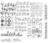cityscape vector illustration... | Shutterstock .eps vector #328252157
