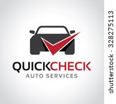 garage logo automotive check... | Shutterstock .eps vector #328275113