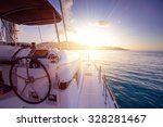 catamaran close exterior at... | Shutterstock . vector #328281467