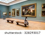 new york  usa   sep 25  2015 ... | Shutterstock . vector #328293017