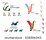 letter business emblems  icon... | Shutterstock . vector #328306343