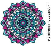 Ornament Color Card With...