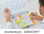 close up of businessman with... | Shutterstock . vector #328332497