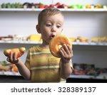 Donut Or Croissant. Little...
