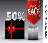 black friday shopping season... | Shutterstock .eps vector #328397693