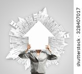 unrecognizable businesswoman...   Shutterstock . vector #328407017