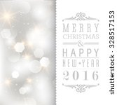 vector glittery lights silver... | Shutterstock .eps vector #328517153