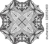 hand drawn background. mandala. ... | Shutterstock .eps vector #328552403