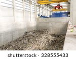 inside of a waste management... | Shutterstock . vector #328555433