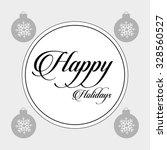 holidays frame design  vector...   Shutterstock .eps vector #328560527