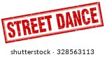 street dance red square grunge... | Shutterstock .eps vector #328563113