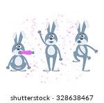 stock vector cartoon character... | Shutterstock .eps vector #328638467