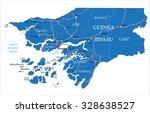 guinea bissau map   Shutterstock .eps vector #328638527