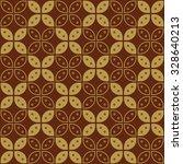 Javanese Batik Seamless Patter...