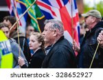Small photo of Protest march in Burton Upon Trent. Burton Upon Trent UK,17 October 2015, Britain First organised Protest march in Burton Upon Trent.