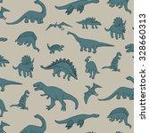 dinosaur pattern   Shutterstock .eps vector #328660313