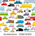 Car Seamless Pattern....