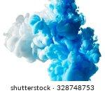 abstract paint splash isolated... | Shutterstock . vector #328748753