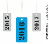 year 2016 tag with previous and ... | Shutterstock . vector #328792073