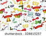 seamless repeatable pattern... | Shutterstock .eps vector #328815257