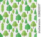 seamless pattern with flat... | Shutterstock .eps vector #328820357